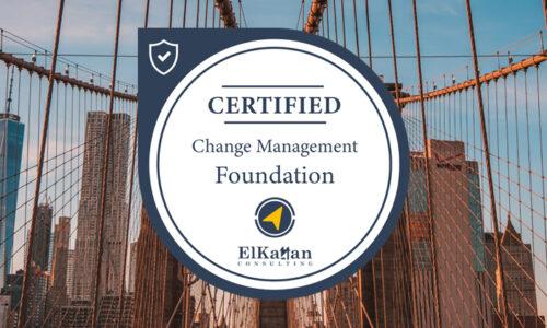 BRIDGING THE GAP: Change Management Foundation Certification
